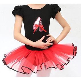 40d9ddf66d Collant Ballet Infantil Bailarina Saia Tutu Luxo Premium !