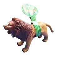 Leão Animal De Brinquedo Vinil Macio Com Som