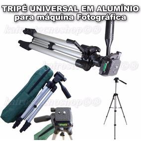 Tripé Universal Fotográfico Profissional Canon Nikon Sony Fu