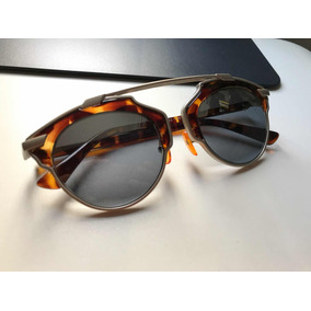 Óculos De Sol Redondo Marrom Tartaruga Dior Ceara Fortaleza - Óculos ... 84c66cfdd5
