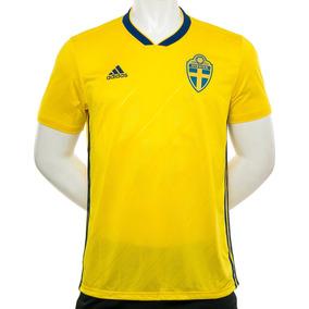 9244171836d90 Camiseta Suecia Home Mundial Rusia 2018 adidas Sport 78