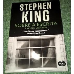 Livro Stephen King Sobre A Escrita - Novo