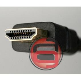 Cable Hdmi 1 Metro V1.4 Fullhd 3d 4k Dorado Ethernet.