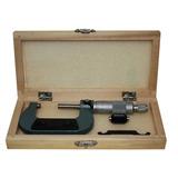Micrômetro Externo De 25 Á 50mm C/ Estojo Leitura De 0,01mm