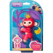 Agarradinhos - Fingerlings - Baby Monkey Bella - Candide