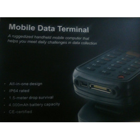 Computadora De Inventario, Mobile Data Terminal Gps, Cámara