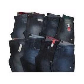 Kit C/3 Calças Jeans Várias Marcas Masculina Atacado Lucre