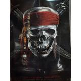 Cartel Poster Ciene Original Piratas Del Caribe Espadas.