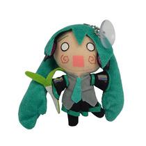 Vocaloid Miku Hatsune Peluche Llavero Chibi 11cm Chupon