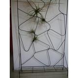 Jardinera Vertical Años 50-s En Hierro 1,04 X 1,70
