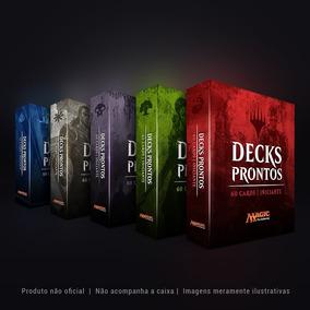 5 Deck De Magic Nível Intermediário Português/inglês +brinde