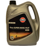 Aceite Multigrado Gulf Superdiesel Plus 15w40 4 Litros