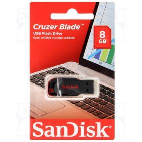 1 Pendrive 8gb Pen Drive 8 Gb Sandisk Original San
