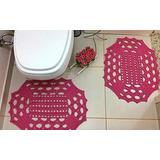 Conjunto De Tapetes Croche (2 Und)