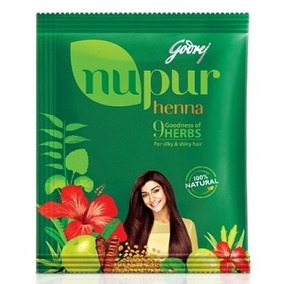 Henna Nupur Da Índia 120g(frete 9,90* P/ Todo Brasil) Powder