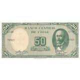 Billete Chileno Firma Escasa