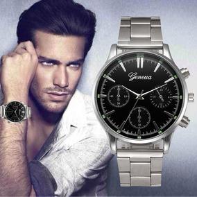 Reloj Geneva Acero Inoxidable Hombre