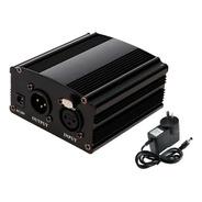Fuente Directa Hugel Phantom Power Microfono Condenser 48v