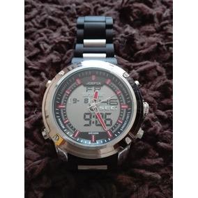 Reloj Acero Inox - Plastic Joefox Modelo 4-5