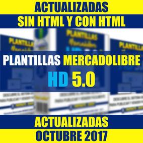 Plantillas Mercadolibre 2017 Mercado Libre Editables Hd 5.0
