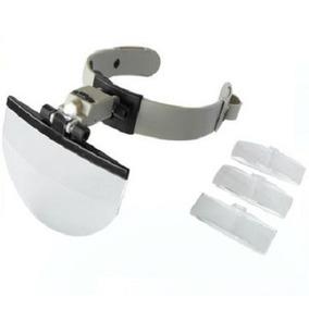 5bc7e046b71cb Lupa Oculos Microscopio Led Joalheiro - Instrumentos Ópticos no ...