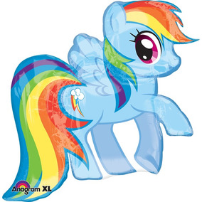 Globo My Little Pony Paq 3 Pzas Jumbo 36 Pulgadas Para Helio
