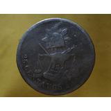 Moneda Antigua 25 Centavos 1890 Alamos Ceca Escasa