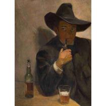 Lienzo En Tela Autoretrato Diego Rivera 1907 69 X 50 Cm