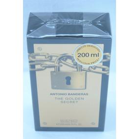 Perfume The Golden Secret Antonio Bandeiras 200 Ml Original