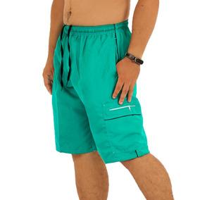 Kit 8 Short Masculino Mais Comprido Elástico Adulto Atacado