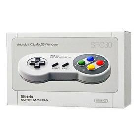 Controle Sem Fio Super Nintendo P/ Smartphone, Pc, Tablet