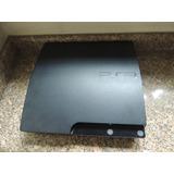 Ps3 Slim 160 Gb + 13 Jogos Originais + 1 Controle Joystick