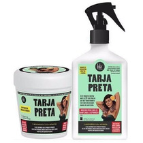 Kit Tarja Preta Máscara + Spray Queratina Liquida 250ml Lola