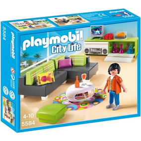 Playmobil 5584 Sala De Estar Moderna Entregas Metepec Toluca