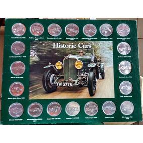 Coleção De Moedas Carros Históricos Shell - Raríssima 1970
