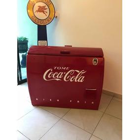 Hielera Coca Cola Antigua 50s Grande