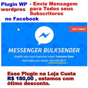Envie Mensagens Para Todos Pessoas No Facebook Com Wp Plugin