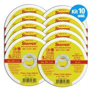 Disco Corte Aço Inox 115mm X 1mm Dac115-14 Starrett 10 Unid.