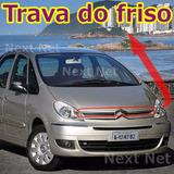 5 Grampo Friso Emblema Cromado Capo Citroen Xsara Picasso _