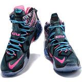 Tênis Nike Lebron 12 Xll Modelo Novo Botinha Caixa Kobe X Xl