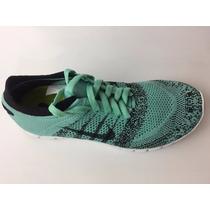 Calzado Tenis Para Niño O Jóvenes Nike Freeflyknit 4.0 Menta