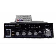 Amplificador Potencia Instalacion 50w Mp3 Sd Usb 12v / 220v Full