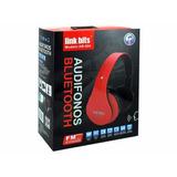 Audífonos Link Bits Ab-004, Bluetooth, Radio Fm, Entrada Par