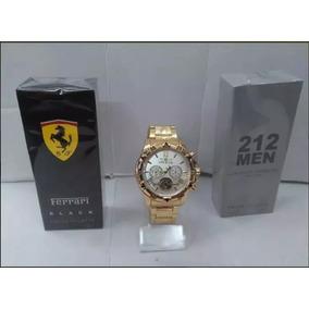 562459a1440 Relogio Masculino Dourado De Luxo Outras Marcas - Relógios De Pulso ...