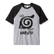 Remera Naruto Konohagakure Aldea Talles Niños Y Adultos