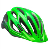 Capacete Bike Ciclismo Bell Traverse Mtb Speed Verde Chumbo 39dc8cd05c9