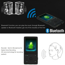 Mp3 Mp4 Com Bluetooth 8gb Interno Radio Fm