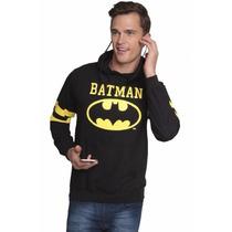 Sudadera Hombre Batman Dc Comics Con Audifonos Gorro Regalo