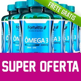 6 - Ômega 3 Fortvitta (óleo De Peixe) 1000mg - Super Oferta