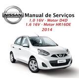 Manual De Serviços - Nissan March 1.0 E 1.6 - 2014 - Pdf